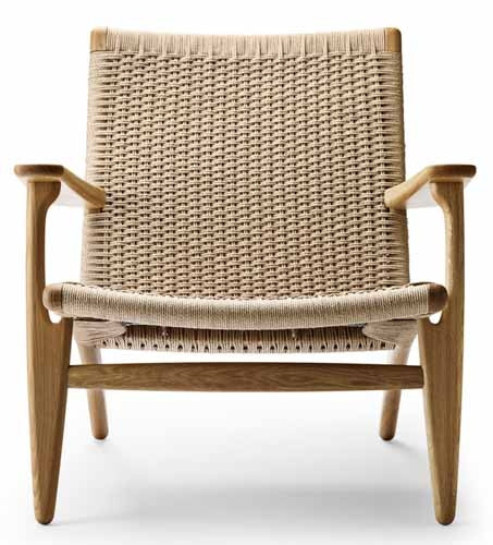 poltroncina Lounge Chair CH25 Carl Hansen & Son.