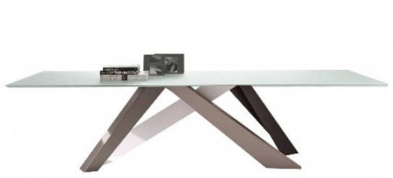 Tavolo fisso in ceramica Big Table Bonaldo