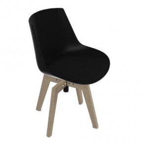 Sedia Flow Chair Iroko MDF Italia