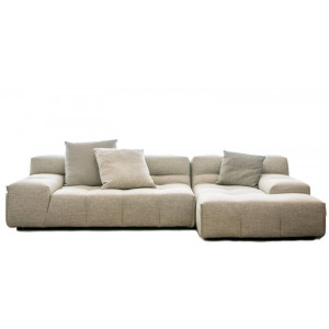 Divano con Chaise Longue Tufty Too B&B Italia