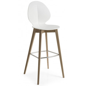 Sgabello Basil Wood Calligaris